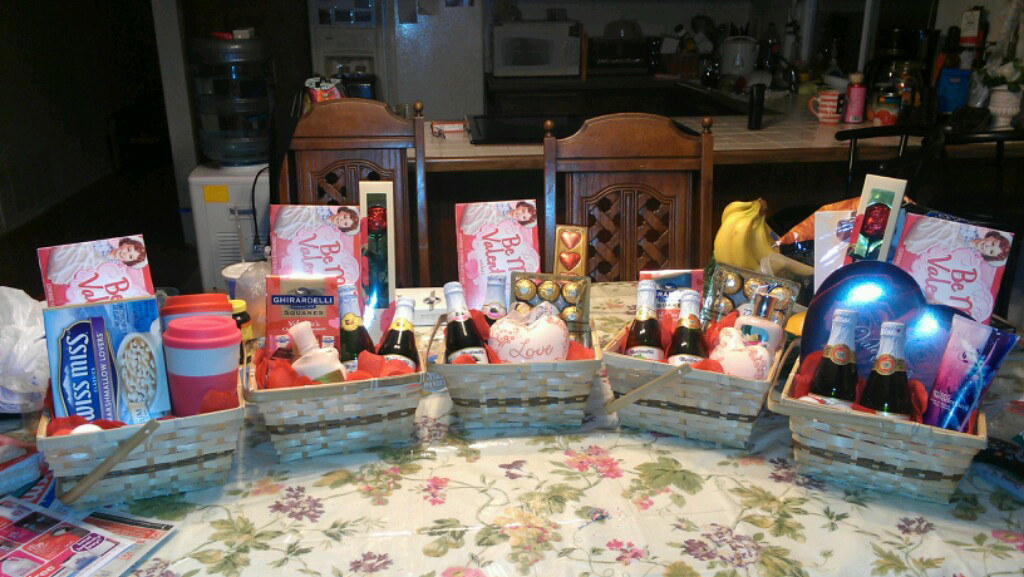 Valentine Basket Silent Auction This Sunday Ablaze For Jesus